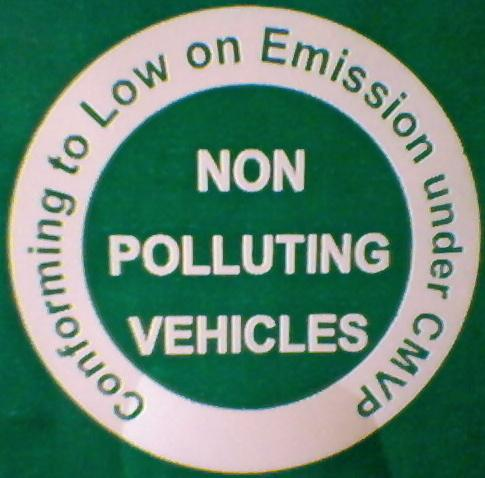 Non Polluting Vehicle Mark Wikipedia