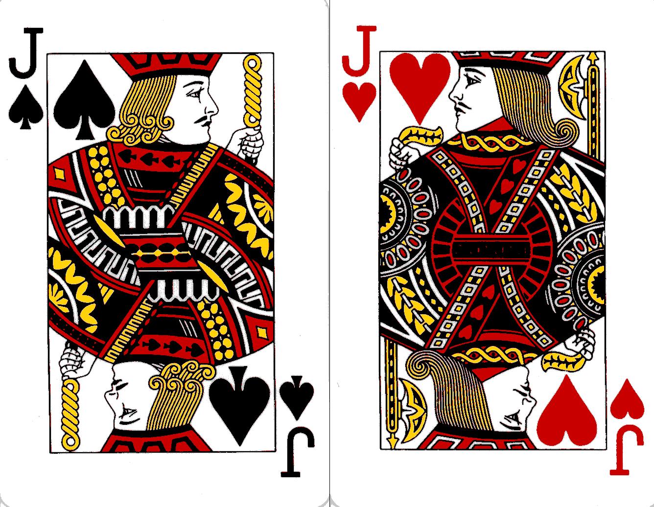 one eyed jacks card deck