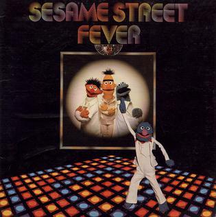 <i>Sesame Street Fever</i> disco music album from 1978