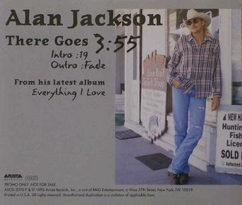 Alan Jackson -There Goes lyrics - YouTube