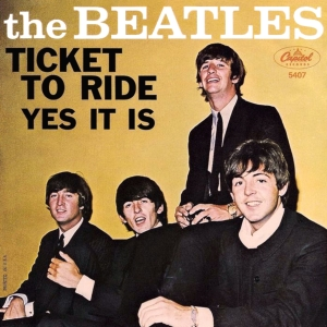 Ticket to Ride original song written and composed by Lennon-McCartney