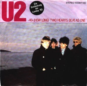 40 song lyrics by U2 cover