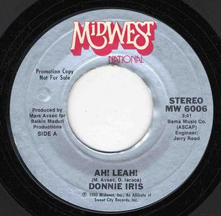 Ah! Leah! by Donnie Iris - Songfacts
