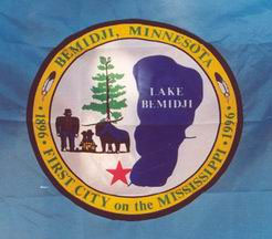 Flag of Bemidji, Minnesota