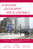 Eurasian Geography and Economics