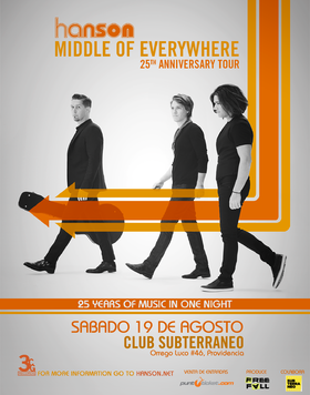 Middle Of Everywhere Th Anniversary Tour