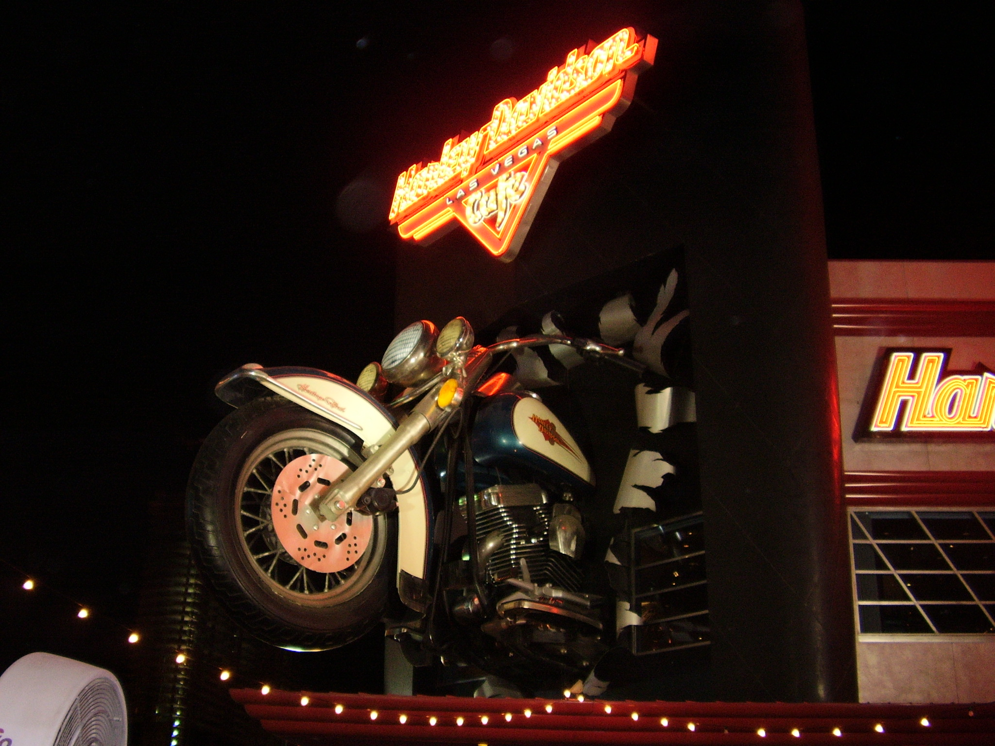 Harley Davidson Wikipedia 1986 Heritage Softail Wiring Diagram Cafe Theme Restaurant Located On The Las Vegas Strip