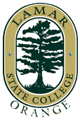 Logo of Lamar State College–Orange seal.