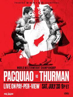 Manny Pacquiao Vs Keith Thurman Wikipedia