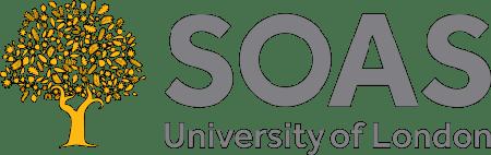 Logo der SOAS University of London (https://en.wikipedia.org/wiki/File:SOAS_University_of_London_logo,_October_2020.png)