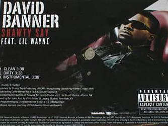 David Banner - Shawty Say Ft. Lil Wayne Lyrics