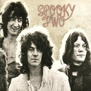 <i>Spooky Two</i> 1969 by Spooky Tooth
