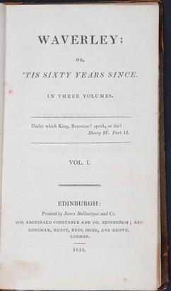 image regarding Scat 3 Printable Form identify Waverley (novel) - Wikipedia