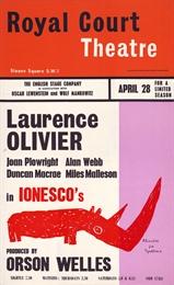 <i>Rhinoceros</i> (Orson Welles production) Orson Welles production of Eugène Ionescos play