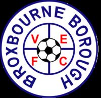 F.C. Broxbourne Borough Association football club in England