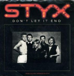 Dont Let It End 1983 single by Styx