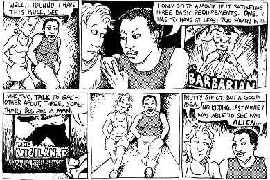 the bechdel test origin