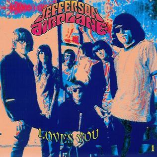 <i>Jefferson Airplane Loves You</i> 1992 box set by Jefferson Airplane