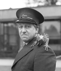 Johnny Morris British television presenter
