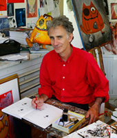 Leigh Hobbs at his studio.jpg