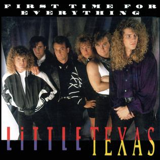 <i>First Time for Everything</i> 1992 studio album by Little Texas
