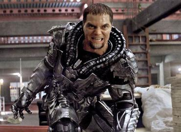Michael Shannon as General Zod.  Courtesy Wikipedia
