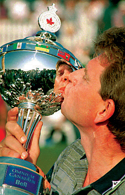 Nick Price with Canadian Open trophy