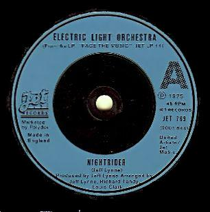 Nightrider (song) original song written and composed by Jeff Lynne