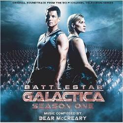 Battlestar Galactica Season 1 soundtrack cover art