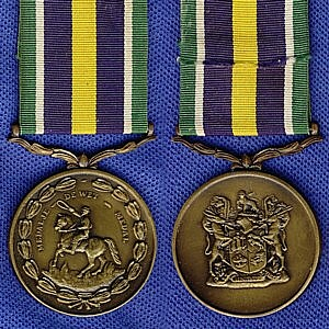 De Wet Medal A military long service medal in the Republic of South Africa