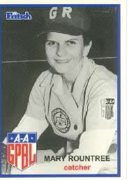 Mary Rountree All-American Girls Professional Baseball League player