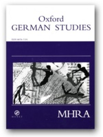 <i>Oxford German Studies</i> Academic journal
