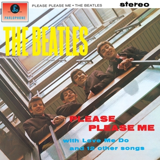<i>Please Please Me</i> 1963 studio album by the Beatles
