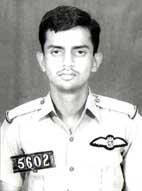 Rashid Minhas Pakistani pilot officer