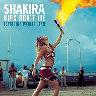 Shakira featuring Wyclef Jean — Hips Don't Lie (studio acapella)