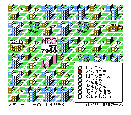 "In order for NEC (NEG) to get ahead in the virtual ""business world,"" they must advertise their products in order to get the consumers to abandon Toshiba's (Tochiba) sphere of influence over top of them. TopManagementInfluenceScreenFamicom.png"