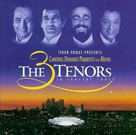 <i>The Three Tenors in Concert 1994</i> 1994 live album by The Three Tenors