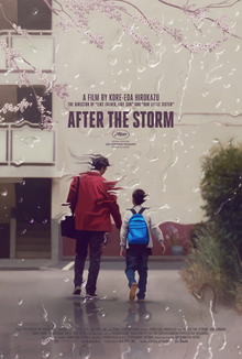 Image result for after the storm poster kore-eda