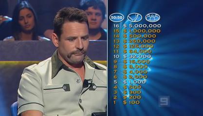 'quiz show' question!?