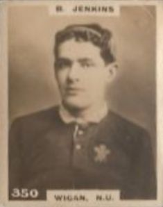 Bert Jenkins Welsh rugby union and rugby league footballer