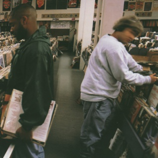Image result for Endtroducing - DJ Shadow