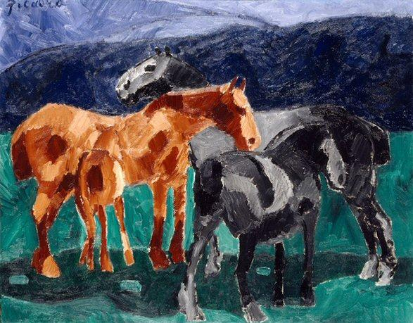 File francis picabia 1911 horses oil on canvas 73 3 x for Art minimal pompidou