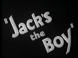 <i>Jacks the Boy</i> 1932 film