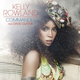 Kelly Rowland featuring David Guetta — Commander (studio acapella)