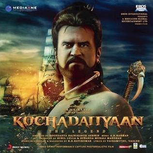 <i>Kochadaiiyaan</i> (soundtrack) 2014 soundtrack album to Kochadaiiyaan by A. R. Rahman