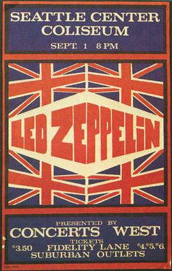 Led Zeppelin North American Tour Summer 1970 - Wikipedia