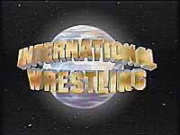 Lutte Internationale / International Wrestling logo