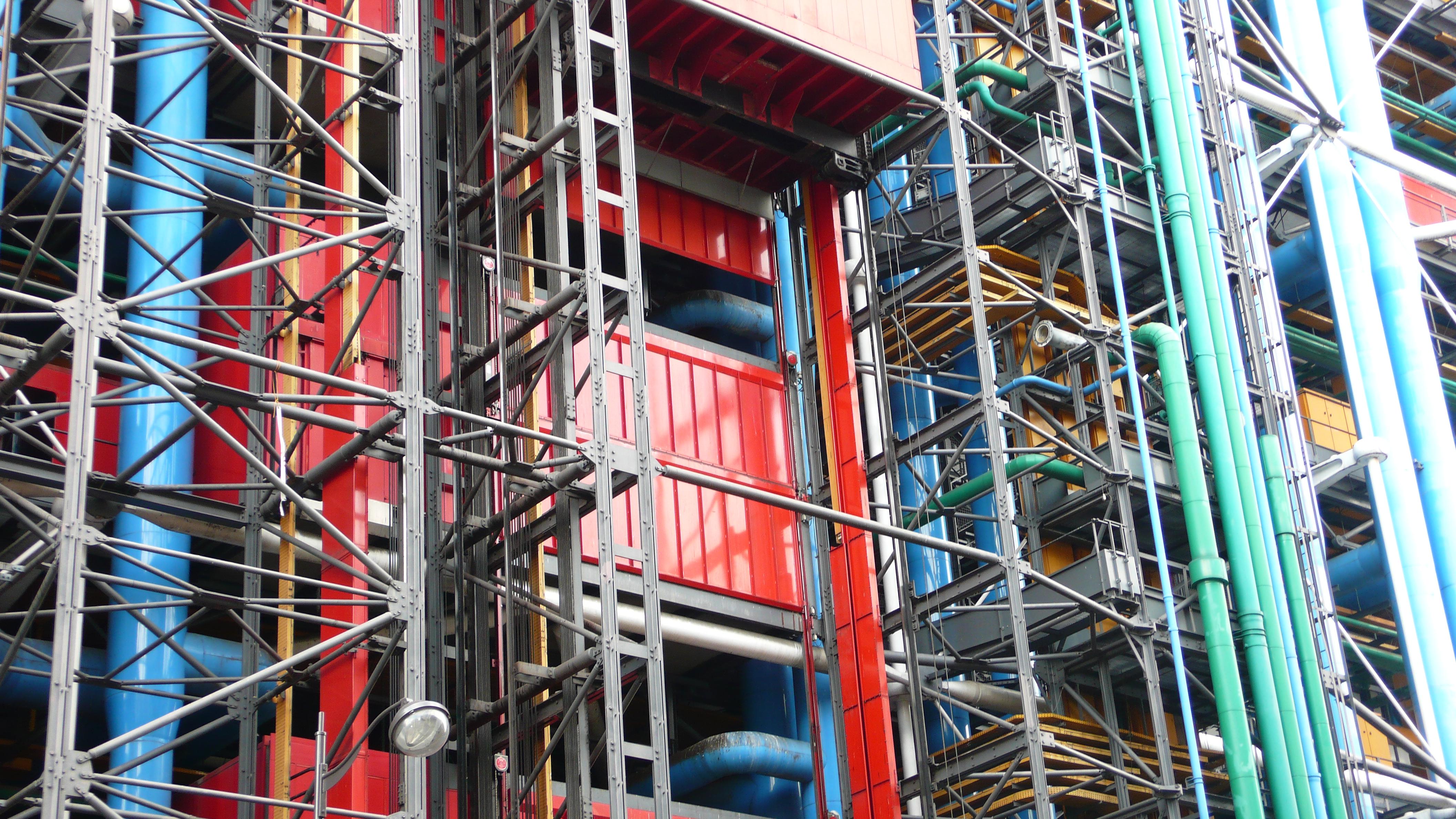 File pompidou centre building wikipedia - Centre george pompidou architecture ...