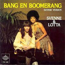 翻唱歌曲的图像 Bang-A-Boomerang 由 ABBA