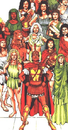 In past cultures, women who took on male roles were called amazons?